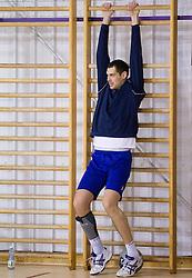 Nenad Bilbija during the Training Camp before IHF Men's Handball World Championship Spain 2013 on January 9, 2013 in Zrece, Slovenia. (Photo By Vid Ponikvar / Sportida.com)