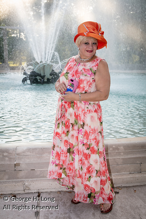 Margarita Bergen at Louisiana Endowment for the Humanities Bright Lights Awards Dinner at Popp Fountain in City Park of New Orleans on May 10, 2018