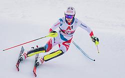 26.01.2020, Streif, Kitzbühel, AUT, FIS Weltcup Ski Alpin, Slalom, Herren, im Bild Sandro Simonet (SUI) // Sandro Simonet of Switzerland in action during his run in the men's Slalom of FIS Ski Alpine World Cup at the Streif in Kitzbühel, Austria on 2020/01/26. EXPA Pictures © 2020, PhotoCredit: EXPA/ JFK