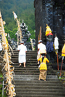 Entering the palace of Puri Agung in east Bali.