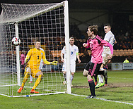Scotland's Craig Wighton misees a chance late on - Scotland under 21s v Estonia international challenge match at St Mirren Park, St Mirren. Pic David Young<br />  <br /> - &copy; David Young - www.davidyoungphoto.co.uk - email: davidyoungphoto@gmail.com