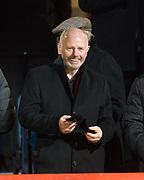 8th December 2017, Dens Park, Dundee, Scotland; Scottish Premier League football, Dundee versus Aberdeen; Aberdeen chairman Stewart Milne