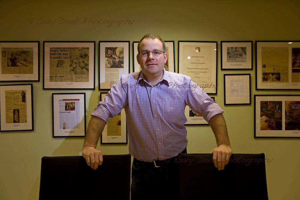 James Macsween, joint Managing Director of Macsween of Edinburgh.