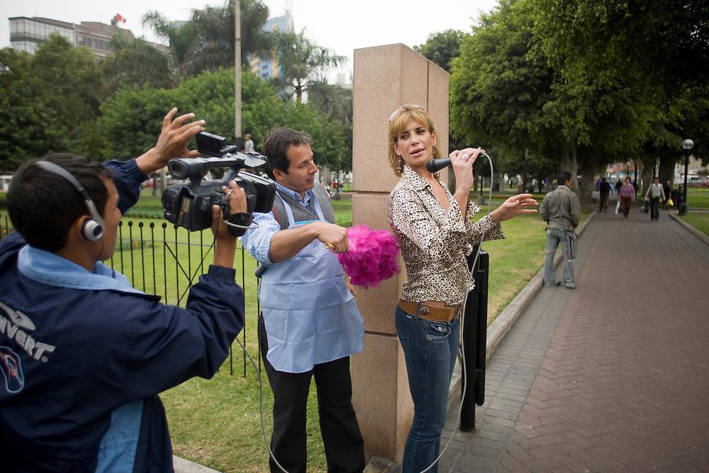 Besa mi burro! - Miraflores District, Lima, Peru.