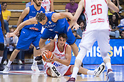 Dario Saric, Christian Burns<br /> Nazionale Italiana Maschile Senior - <br /> 2019 FIBA World Cup Qualifiers<br /> Italia Croazia - Italy Croatia<br /> FIP 2018<br /> Trieste, 28/06/2018<br /> Foto M.Ceretti / Ciamillo-Castoria