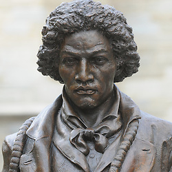 Frederick Douglass Statue unveiling at West Chester University