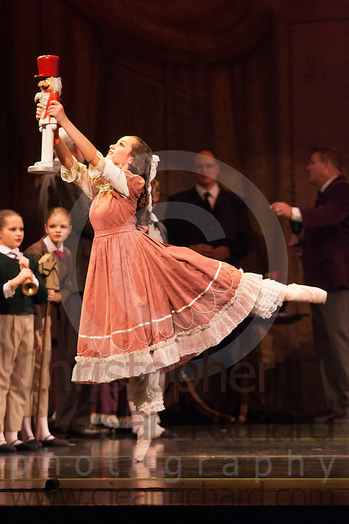 Woodlands Ballet Ensemble<br /> Nutcracker 2011<br /> Evening Dress Rehearsal