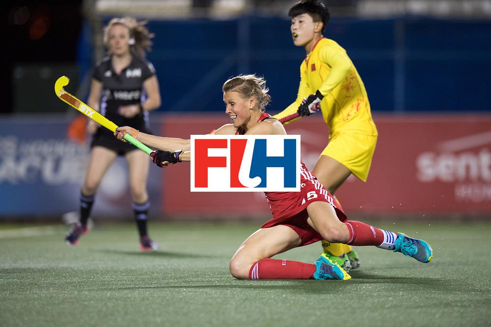 AUCKLAND - Sentinel Hockey World League final women<br /> Match id 10302<br /> ENG v China<br /> Foto:  Alex Danson( C) .<br /> WORLDSPORTPICS COPYRIGHT FRANK UIJLENBROEK
