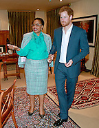 Prince Harry Private Meeting With Graca Machel