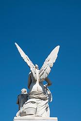 Statue on Palace  Bridge (Schlossbrucke) in Mitte Berlin Germany