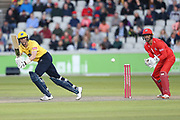 Adam Hose of the Birmingham Bearsduring the Vitality T20 Blast North Group match between Lancashire Lightning and Birmingham Bears at the Emirates, Old Trafford, Manchester, United Kingdom on 10 August 2018.