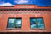 Historic bank building, Ridgway, Colorado USA