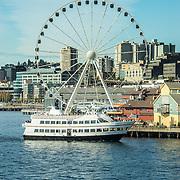 Argosy Cruise in Elliott Bay, Seattle WA.
