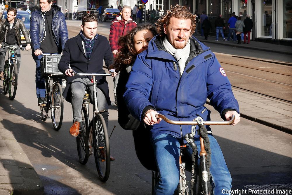 February 3, 2017 - 13:15<br /> The Netherlands, Amsterdam - Vijzelstraat