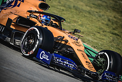 February 18, 2019 - Barcelona, Catalonia, Spain - CARLOS SAINZ (ESP) from team McLaren drives in his in his MCL34 during day one of the Formula One winter testing at Circuit de Catalunya (Credit Image: © Matthias OesterleZUMA Wire)