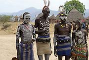 Africa, Ethiopia, Omo Valley, Karo tribe