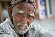 Portrait of an elderly man, Pokhara.