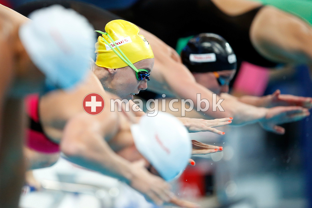 Emma McKEON of Australia competes in the women's 200m Freestyle Heats during the 16th FINA World Swimming Championships held at the Kazan arena in Kazan, Russia, Tuesday, Aug. 4, 2015. (Photo by Patrick B. Kraemer / MAGICPBK)