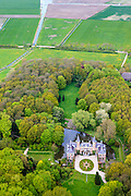 Nederland, Zeeland, Walcheren, 09-05-2013; Middelburg, Kasteel en landgoed Ter hooge. Rijksmonument.<br /> Casy=tle and estate, Zealand.<br /> luchtfoto (toeslag op standard tarieven)<br /> aerial photo (additional fee required)<br /> copyright foto/photo Siebe Swart