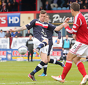 Iain Davidson  - Dundee v Aberdeen in the Clydesdale Bank Scottish Premier League at Dens Park.. - © David Young - www.davidyoungphoto.co.uk - email: davidyoungphoto@gmail.com