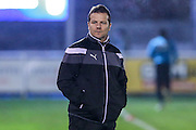 Forest Green Rovers manager, Mark Cooper, during the Vanarama National League match between Eastleigh and Forest Green Rovers at Arena Stadium, Eastleigh, United Kingdom on 10 January 2017. Photo by Shane Healey.