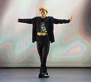 BBC Young Dancer 2015 <br /> at Sadler's Wells, London, Great Britain <br /> 8th May 2015 <br /> <br /> Grand Final <br /> TX Saturday 7pm on 9th May 2015 <br /> <br /> <br /> Kieran Lai - Hip Hop <br /> <br /> <br /> Photograph by Elliott Franks <br /> Image licensed to Elliott Franks Photography Services
