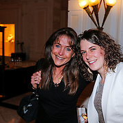 NLD/Amsterdam/20130327 - Inloop Schaatsgala 2012, Yvonne van Gennip en Ireen Wust