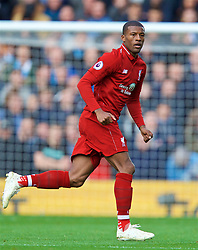 LIVERPOOL, ENGLAND - Sunday, October 7, 2018: Liverpool's Georginio Wijnaldum during the FA Premier League match between Liverpool FC and Manchester City FC at Anfield. (Pic by David Rawcliffe/Propaganda)