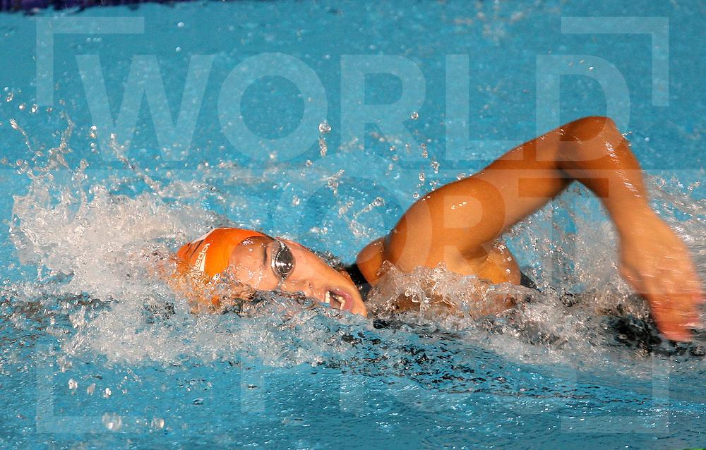 12th Fina World Swimming Championships Melbourne, 2007, 29th March.  Ranomi Kromowidjojo100m Freestyle Semi final...fotografie: frank uijlenbroek©2007Grant Treeby ..