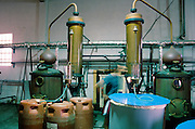 Plomari. Barbayanni Ouzo Destillery.