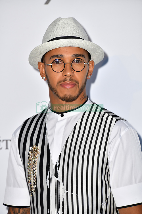 Lewis Hamilton attends the 2018 amfAR Gala on May 17, 2018 in Cap D'Antibes, France. Photo by Lionel Hahn/ABACAPRESS.COM