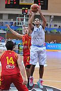 Trento 27 Luglio 2012 - Trentino Basket Cup - Italia Montenegro - <br /> Nella Foto : PIETRO ARADORI<br /> Foto Ciamillo/M.Gregolin