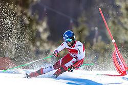 02.03.2020, Hannes Trinkl Weltcupstrecke, Hinterstoder, AUT, FIS Weltcup Ski Alpin, Riesenslalom, Herren, 1. Lauf, im Bild Marco Schwarz (AUT) // Marco Schwarz of Austria in action during 1st run of men's Giant Slalom of FIS ski alpine world cup at the Hannes Trinkl Weltcupstrecke in Hinterstoder, Austria on 2020/03/02. EXPA Pictures © 2020, PhotoCredit: EXPA/ Johann Groder