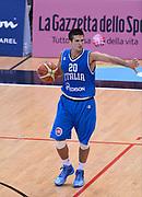 DESCRIZIONE : Trento Nazionale Italia Uomini Trentino Basket Cup Italia Belgio Italy Belgium<br /> GIOCATORE : Andrea Cinciarini<br /> CATEGORIA : palleggio sequenza<br /> SQUADRA : Italia Italy<br /> EVENTO : Trentino Basket Cup<br /> GARA : Italia Belgio Italy Belgium<br /> DATA : 12/07/2014<br /> SPORT : Pallacanestro<br /> AUTORE : Agenzia Ciamillo-Castoria/GiulioCiamillo<br /> Galleria : FIP Nazionali 2014<br /> Fotonotizia : Trento Nazionale Italia Uomini Trentino Basket Cup Italia Belgio Italy Belgium