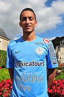 Saif Eddine Khaoui - 22.09.2015 - Photo Officielle Tours <br /> Photo : Philippe Le Brech / Icon Sport