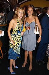 Left to right, YUKI OSHIMA-WILPON and  at the launch party for the fashion label Javovich-Hawk held at the Fifth Floor Cafe, Harvey Nichols, Knightsbridge, London on 27th April 2006.<br />