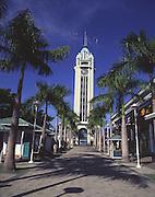 Aloha Tower, Honolulu, Oahu, Hawaii<br />