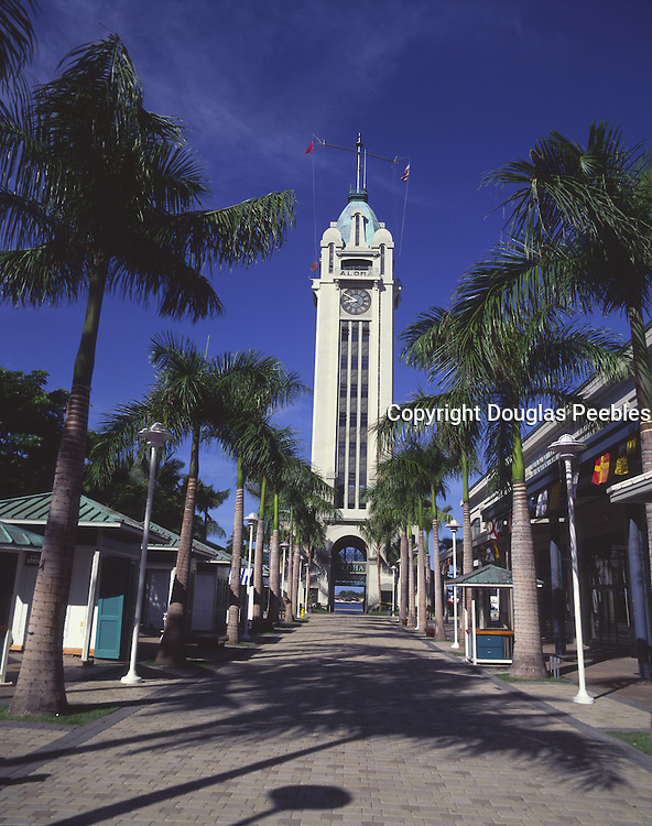 Aloha Tower, Honolulu, Oahu, Hawaii<br />