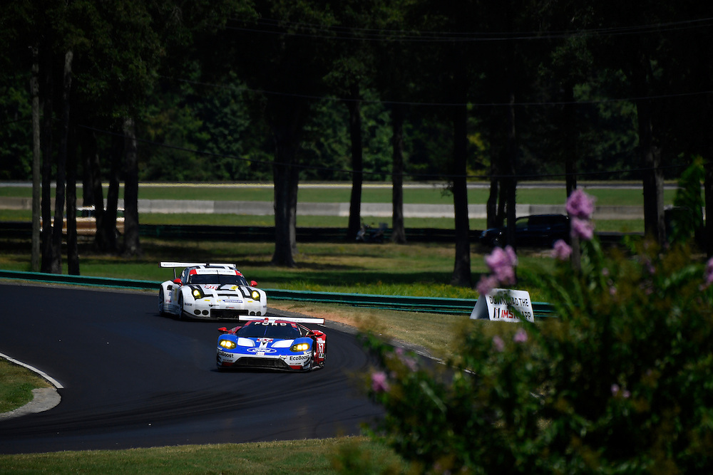 26-28 August, 2016, Alton, Virginia USA<br /> 67, Ford GT, GT, GTLM, Ryan Briscoe, Richard Westbrook<br /> &copy;2016, Scott R LePage <br /> LAT Photo USA