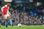 Slavia Prague midfielder Ibrahim Traore (27) during the Europa League  quarter-final, leg 2 of 2 match between Chelsea and Slavia Prague at Stamford Bridge, London, England on 18 April 2019.