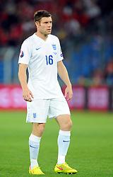 England's James Milner (Manchester City) - Photo mandatory by-line: Joe Meredith/JMP - Mobile: 07966 386802 - 08/09/14 - SPORT - FOOTBALL - Switzerland - Basel - St Jacob Park - Switzerland v England - Uefa Euro 2016 Group E Qualifier