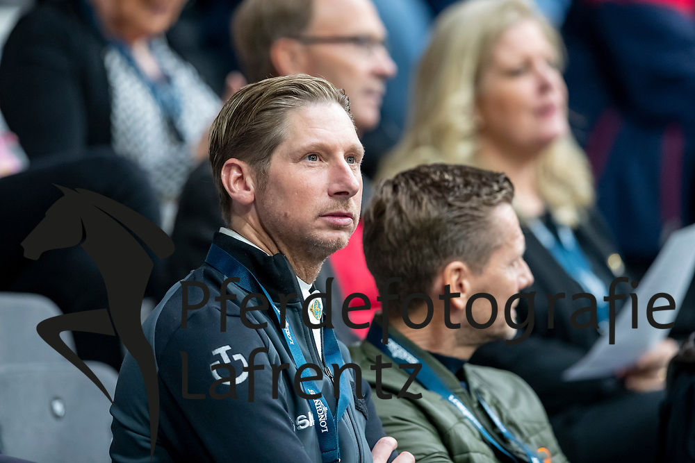 KITTEL Patrik (SWE), GAL Edward (NED)<br /> Göteborg - Gothenburg Horse Show 2019 <br /> FEI Dressage World Cup™ Final II<br /> Grand Prix Freestyle/Kür<br /> Longines FEI Jumping World Cup™ Final and FEI Dressage World Cup™ Final<br /> 06. April 2019<br /> © www.sportfotos-lafrentz.de/Stefan Lafrentz