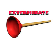 Famous humourous quotes series: Exterminate (the whole dalek race)