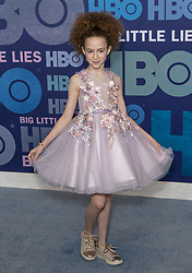 May 29, 2019 - New York, New York, United States - Chloe Coleman wearing dress by JJ's House attends HBO Big Little Lies Season 2 Premiere at Jazz at Lincoln Center  (Credit Image: © Lev Radin/Pacific Press via ZUMA Wire)