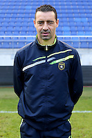 Olivier ECHOUAFNI - 04.10.2014 - Photo officielle Sochaux - Ligue 2 2014/2015<br /> Photo : Icon Sport