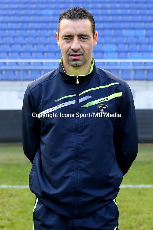 Olivier ECHOUAFNI - 04.10.2014 - Photo officielle Sochaux - Ligue 2 2014/2015<br /> Photo : Icon Sport
