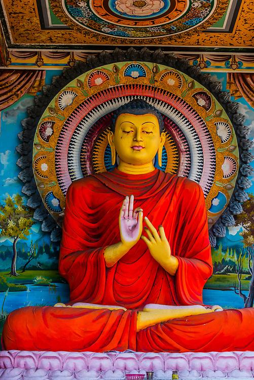 Buddha statue, Tangalle, Southern Province, Sri Lanka.