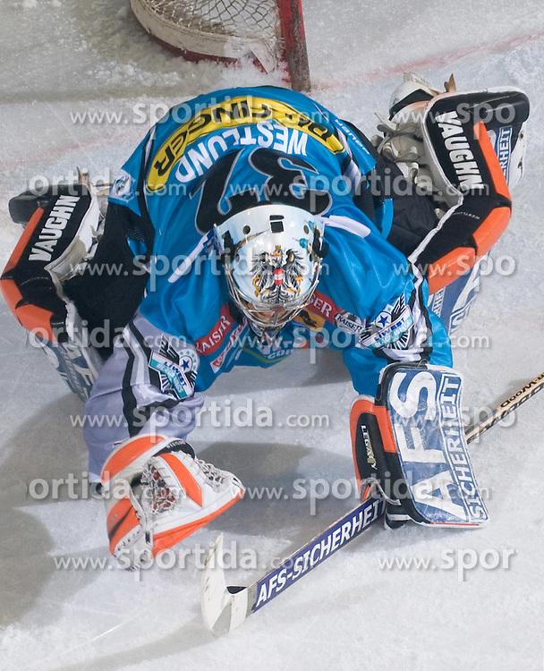 Alex Westlund (EHC Liwest Black Wings Linz, #32) at during ice-hockey match between HDD Tilia Olimpija and EHC Liwest Black Wings Linz in 18th Round of EBEL league, on November 5, 2010 at Hala Tivoli, Ljubljana, Slovenia. (Photo By Matic Klansek Velej / Sportida)