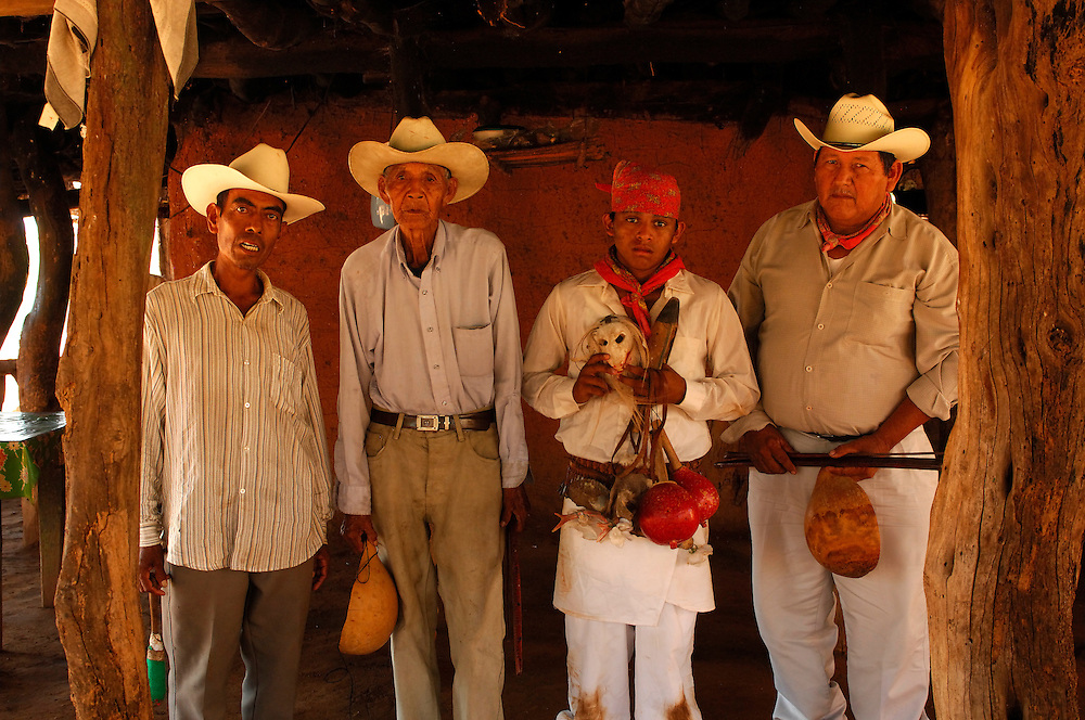 Deer Dancer, Mayo Indian Home, Los Capomos, near El Fuerte, Sinaloa, Mexico