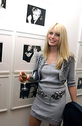 MEREDITH OSTROM at a private view of 'Warhol's World' an exhibition of photography and Television by Andy Warhol held at Hauser & Wirth, Piccadilly, London on 26th January 2006.<br /><br />NON EXCLUSIVE - WORLD RIGHTS